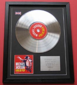 MICHAEL JACKSON - King Of Pop CD / PLATINUM LP DISC